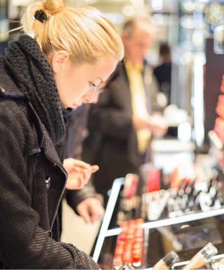 Retailsegmenten cosmetica